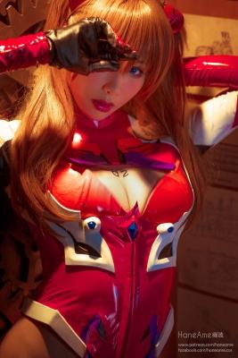 Evangelion Pilot Suit Shikinami Asuka Langley Costume Play003