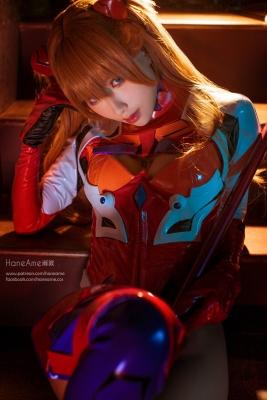 Evangelion Pilot Suit Shikinami Asuka Langley Costume Play011