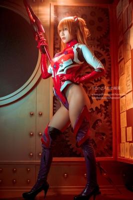 Evangelion Pilot Suit Shikinami Asuka Langley Costume Play018