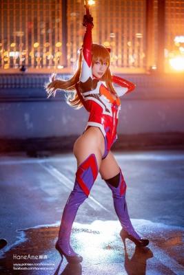 Evangelion Pilot Suit Shikinami Asuka Langley Costume Play019