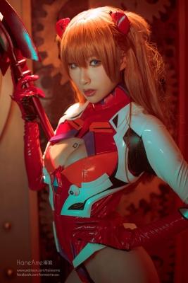 Evangelion Pilot Suit Shikinami Asuka Langley Costume Play017