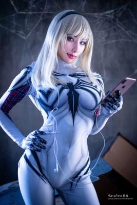 Gwenom Spider Gwen Cosplay005