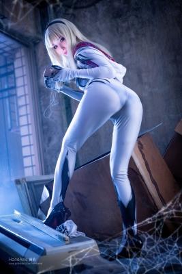 Gwenom Spider Gwen Cosplay007