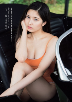 Yurina Gyotens longawaited first swimsuit for fans004
