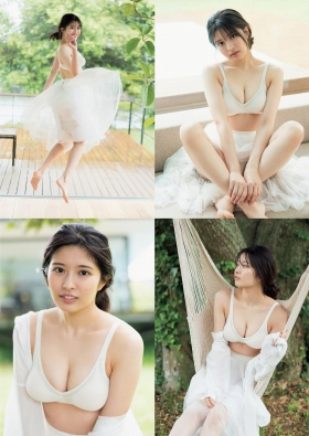 Yurina Gyotens longawaited first swimsuit for fans003