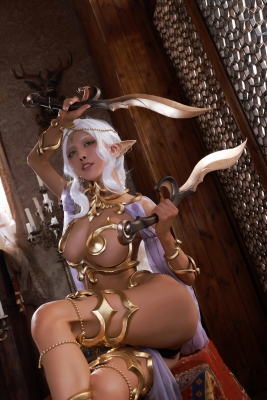 Elf Village Cosplay Swimsuit Gravure001