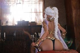 Elf Village Cosplay Swimsuit Gravure014