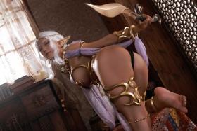 Elf Village Cosplay Swimsuit Gravure016