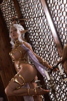 Elf Village Cosplay Swimsuit Gravure021