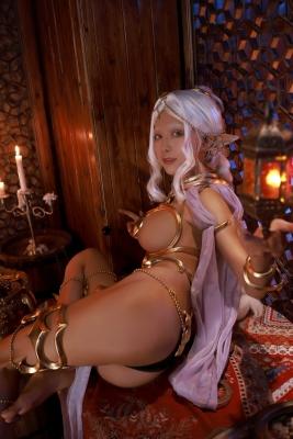 Elf Village Cosplay Swimsuit Gravure035