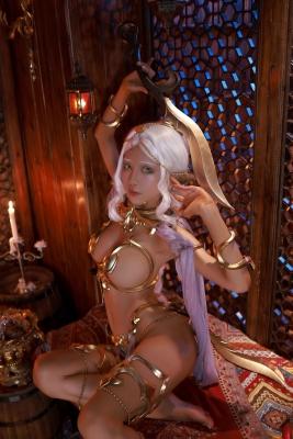 Elf Village Cosplay Swimsuit Gravure029