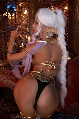 Elf Village Cosplay Swimsuit Gravure053