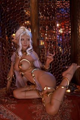 Elf Village Cosplay Swimsuit Gravure046