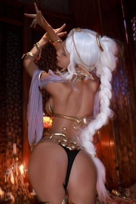 Elf Village Cosplay Swimsuit Gravure068