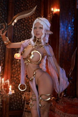 Elf Village Cosplay Swimsuit Gravure063