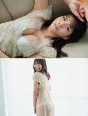 Nanami Asahi a newcomer to the gravure world with a powerful body003