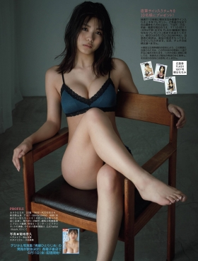 Nanami Asahi a newcomer to the gravure world with a powerful body007