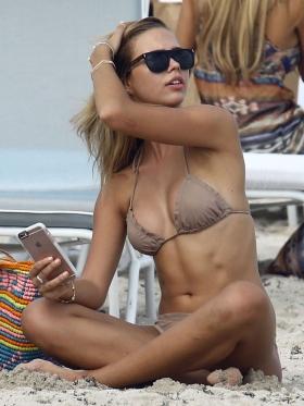 Sandra Kubicka Polish model model with great style swimsuit bikini002