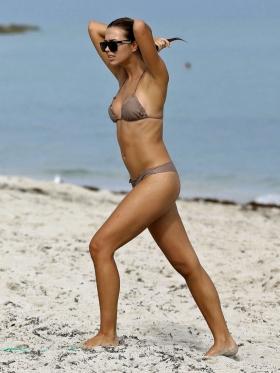 Sandra Kubicka Polish model model with great style swimsuit bikini003