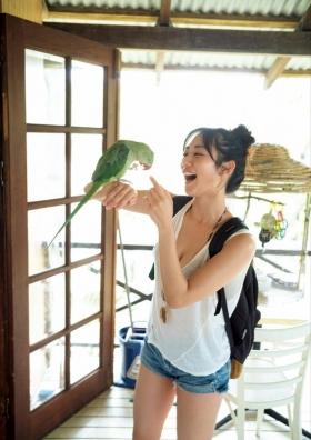 The erotic body of Kazusa Okuyama, Japans most successful actress018