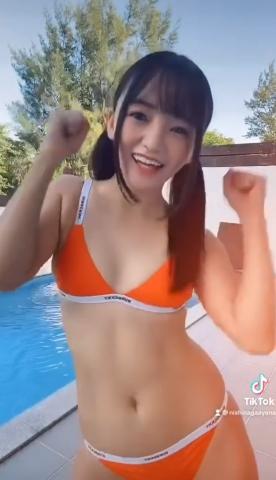 Ayana Nishinaga TikTok Small but shaking 2014