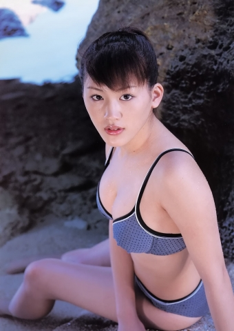 Haruka Ayases swaying Fcups High School Student in a Legendary Swimsuit036