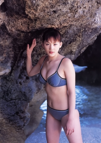 Haruka Ayases swaying Fcups High School Student in a Legendary Swimsuit035