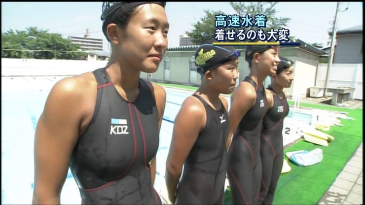 Its hard to put on a high speed swimsuit003