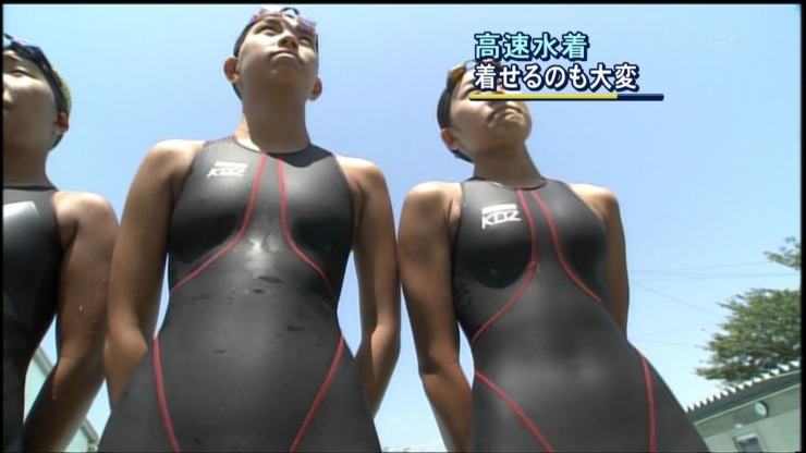 Its hard to put on a high speed swimsuit006