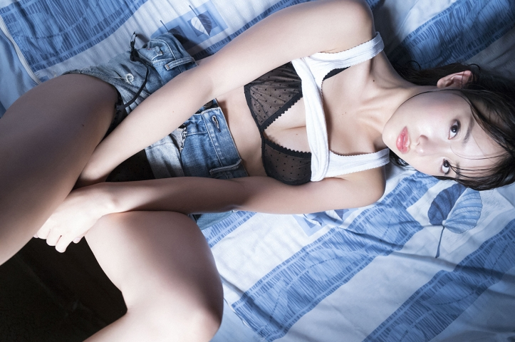 Mariya Nagao Best Sexy Night Pool Bet Lingerie Underwear004