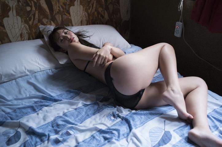 Mariya Nagao Best Sexy Night Pool Bet Lingerie Underwear009