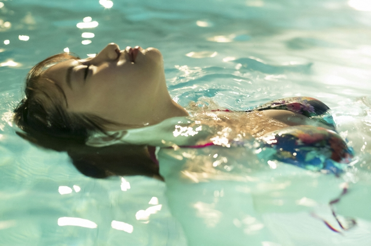 Mariya Nagao Best Sexy Night Pool Bet Lingerie Underwear029