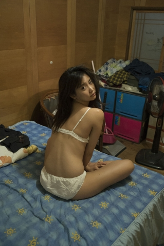 3Mariya Nagao Best Sexy Night Pool Bet Lingerie Underwear009