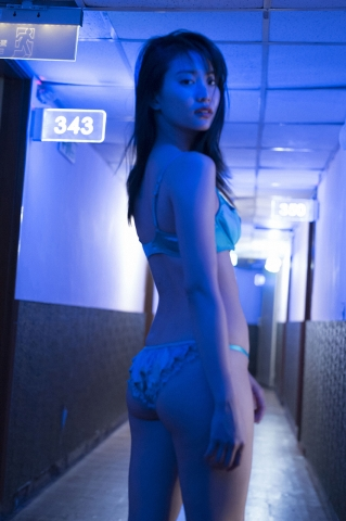 3Mariya Nagao Best Sexy Night Pool Bet Lingerie Underwear021