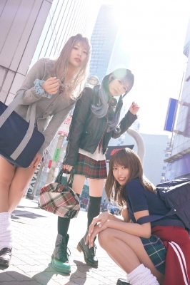 Miss Magas beauty gets a big makeover as a gal Riko Ootsuki Nagisa Hayakawa Himena Kikuchi004