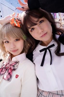 Miss Magas beauty gets a big makeover as a gal Riko Ootsuki Nagisa Hayakawa Himena Kikuchi009
