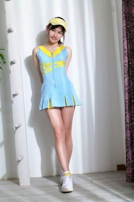 Ayaka Eto wearing a uniform, forbidden love005