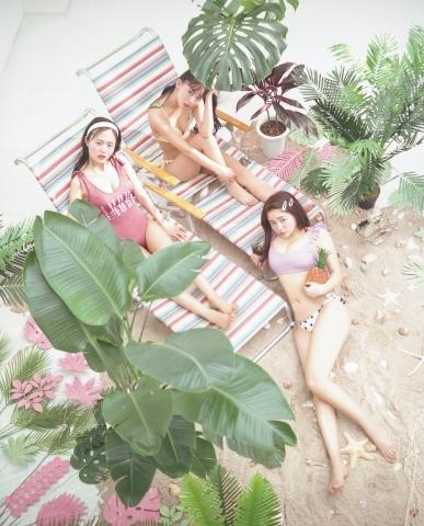 Sachika Nitta Natsue Tokumoto, the dazzling swimwear that shakes your heart009