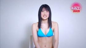 Shiori Kawada Light blue swimsuit bikini005