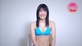 Shiori Kawada Light blue swimsuit bikini009