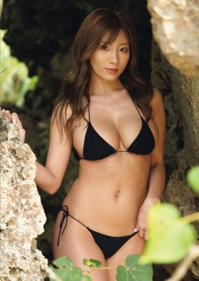 Aya Hazukis minimally dynamite body exposed to the limit002