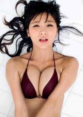 Aya Hazukis minimally dynamite body exposed to the limit034