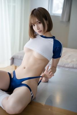 Sexy Gym Uniform Gym Wear Swimsuit Cosplay Exposure010