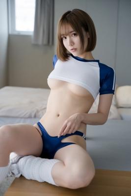 Sexy Gym Uniform Gym Wear Swimsuit Cosplay Exposure009