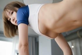 Sexy Gym Uniform Gym Wear Swimsuit Cosplay Exposure062