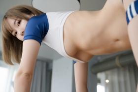 Sexy Gym Uniform Gym Wear Swimsuit Cosplay Exposure063