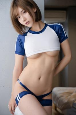 Sexy Gym Uniform Gym Wear Swimsuit Cosplay Exposure073