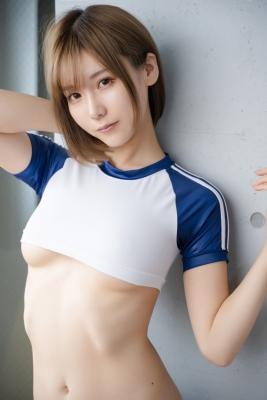 Sexy Gym Uniform Gym Wear Swimsuit Cosplay Exposure080