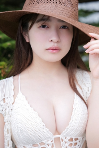 Lets enjoy the great outdoors with Nagisa Hayakawa in her cute swimsuit006