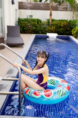 Mao Imaizumi Swimming Race Swimsuit Image Purple arena arena Vol1031